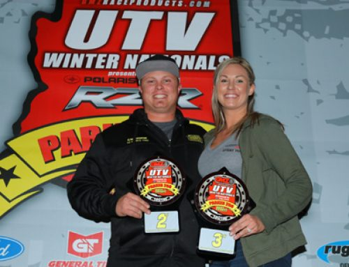 Willison & Cole Podium at Parker 250 Short Course
